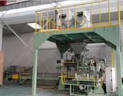 Industrial Packing Scale Fertilizer Bagging Plant 8000*3500*5500mm